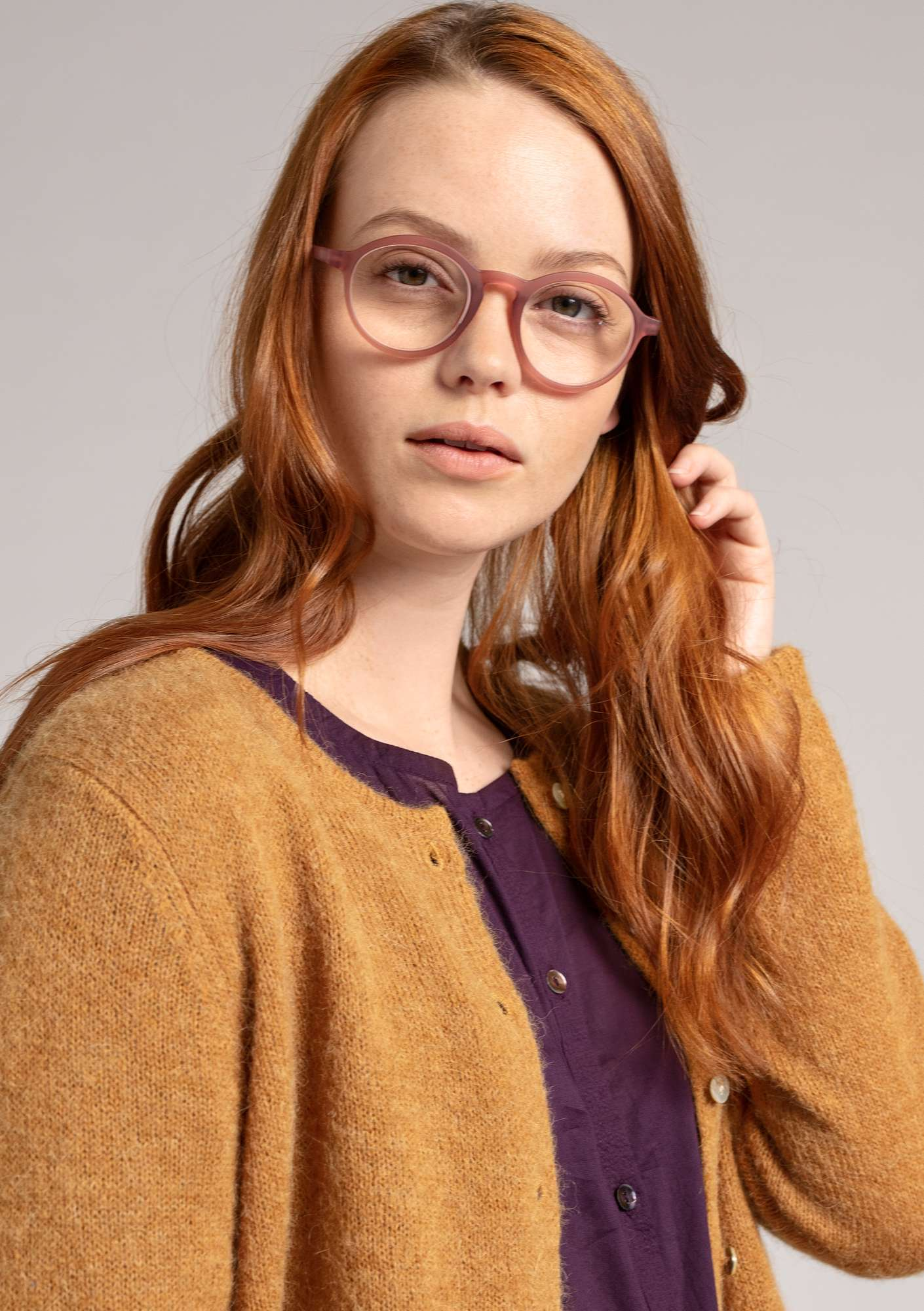 """Gudrun"" reading glasses fig"