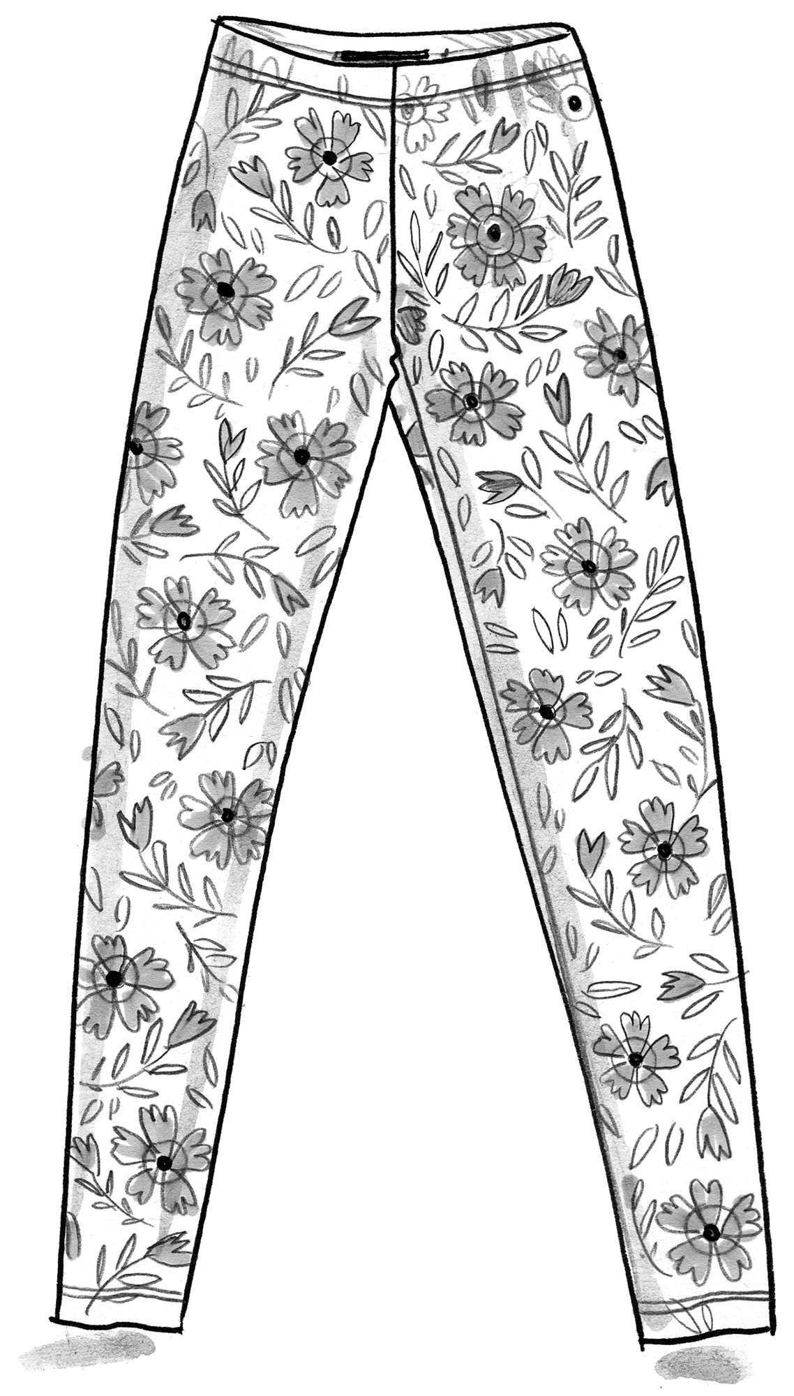 """Freyja"" leggings in micromodal/elastane"
