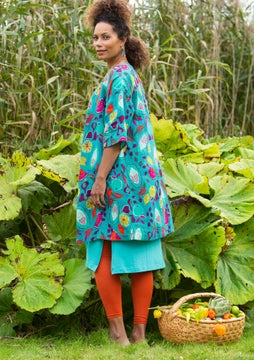 Botswana dress aqua green