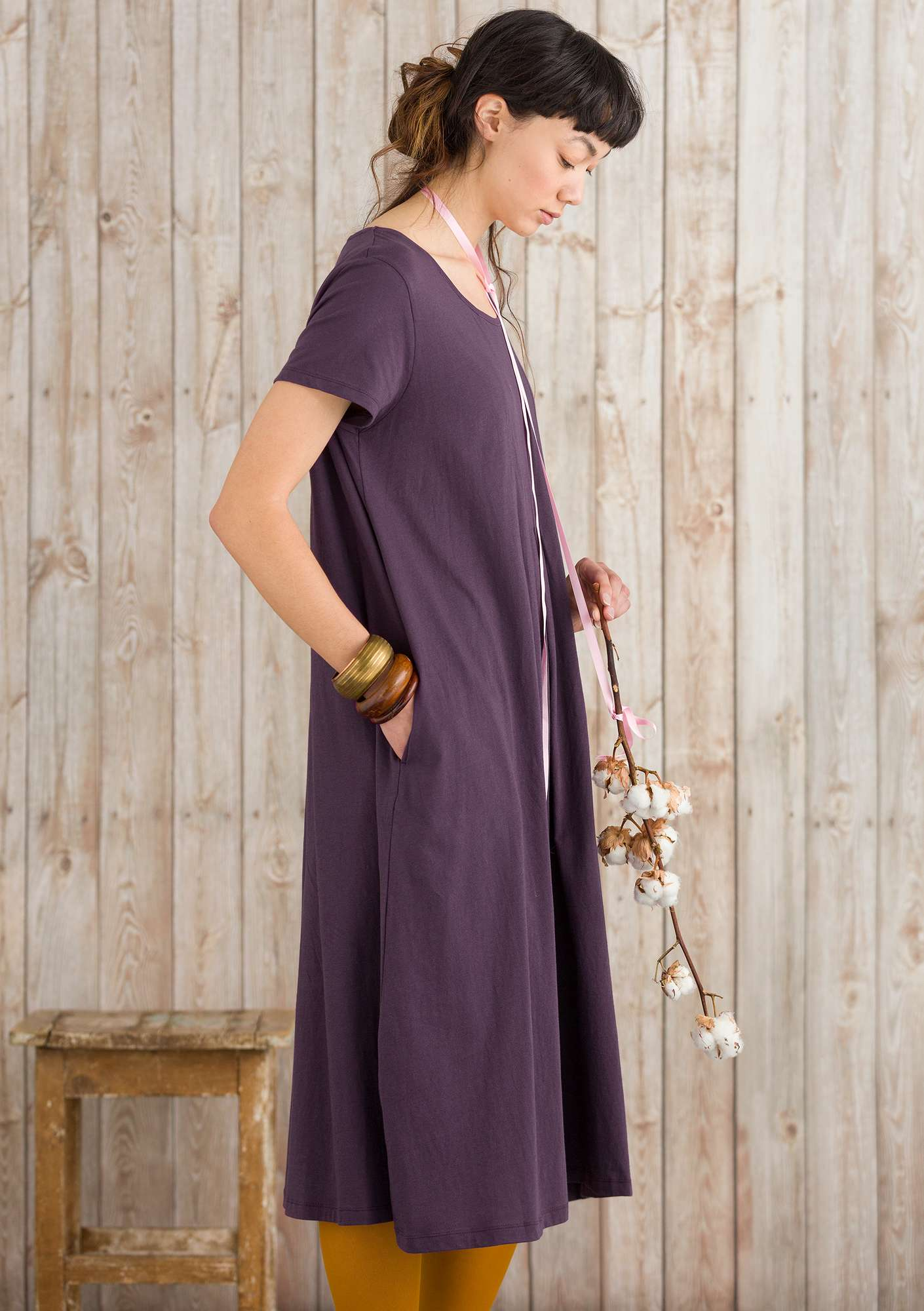 """Vanja"" organic cotton dress lake"