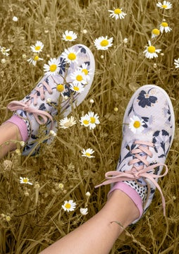 Crocus sneakers natural