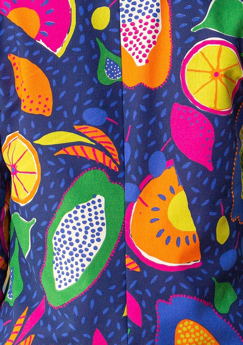 Botswana yard goods in organic cotton  multicolored/patterned