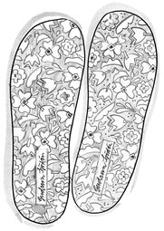 Printed insoles