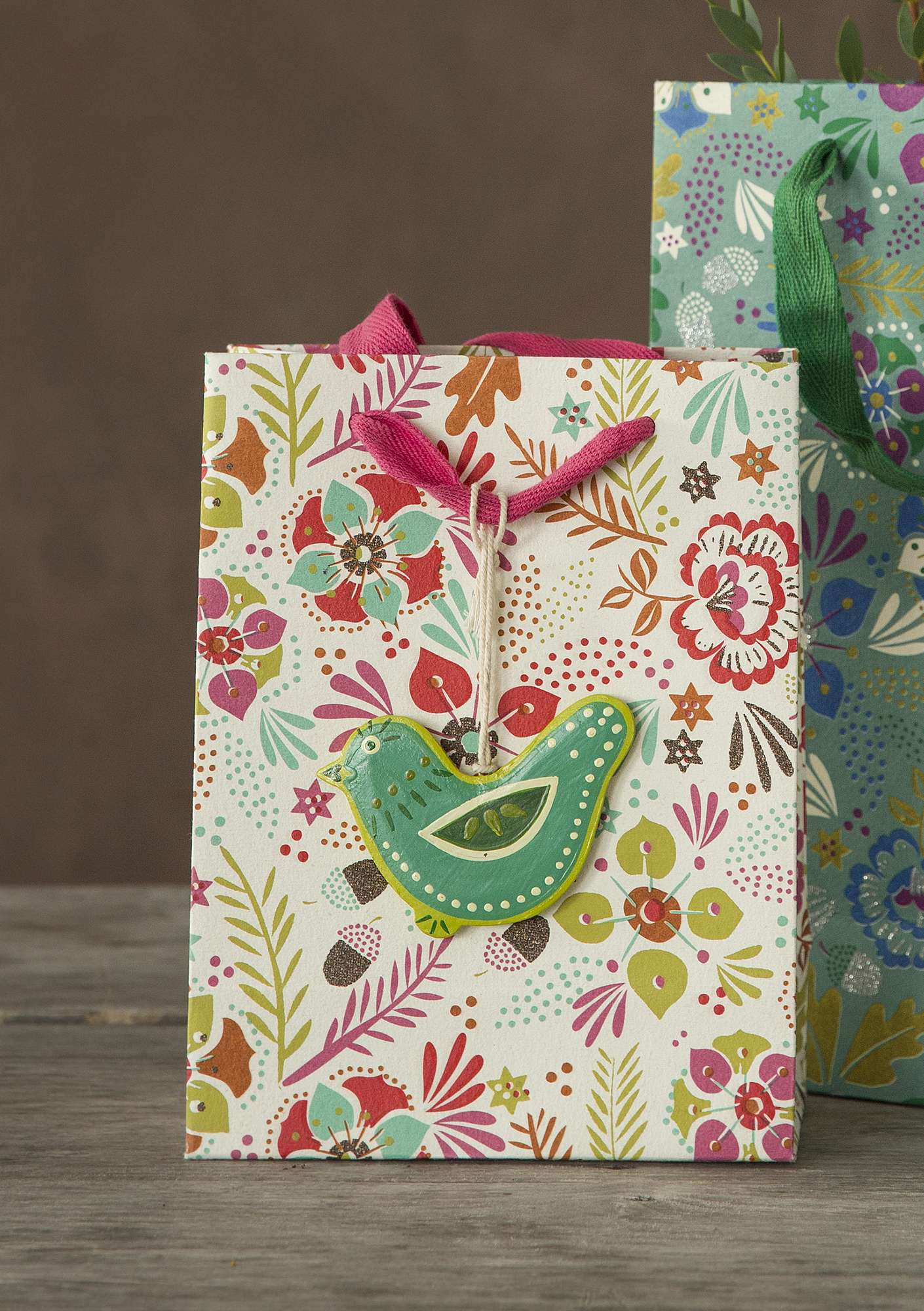 """Pingla"" small paper gift bag multicoloured"