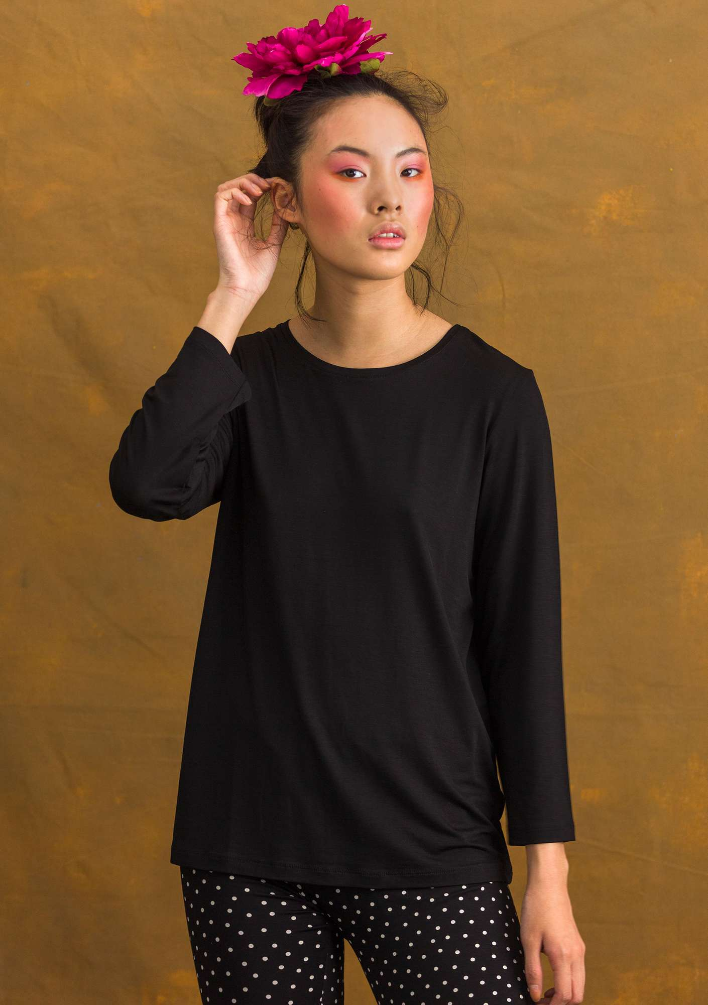 Pytte top black