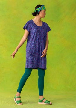 Confetti tunic violet/patterned