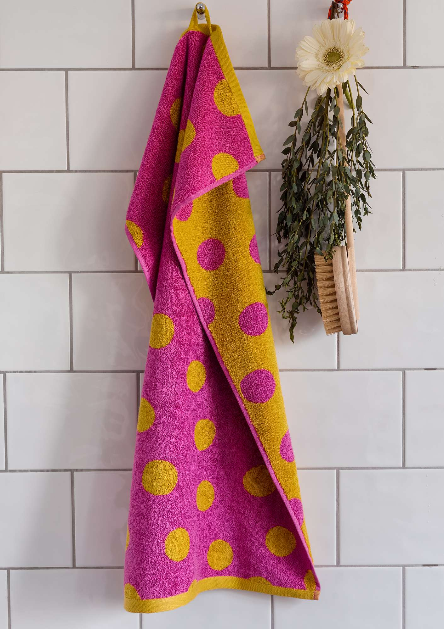 """Solig"" organic cotton towel laburnum"