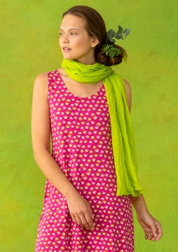 Hake shawl tropical green