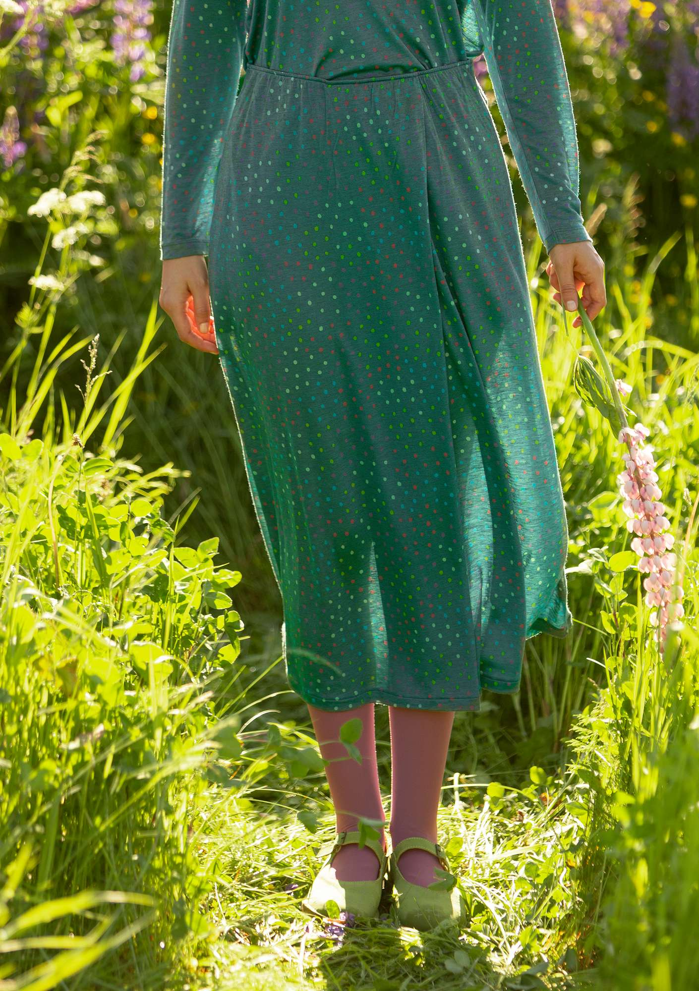 Joy skirt opal green