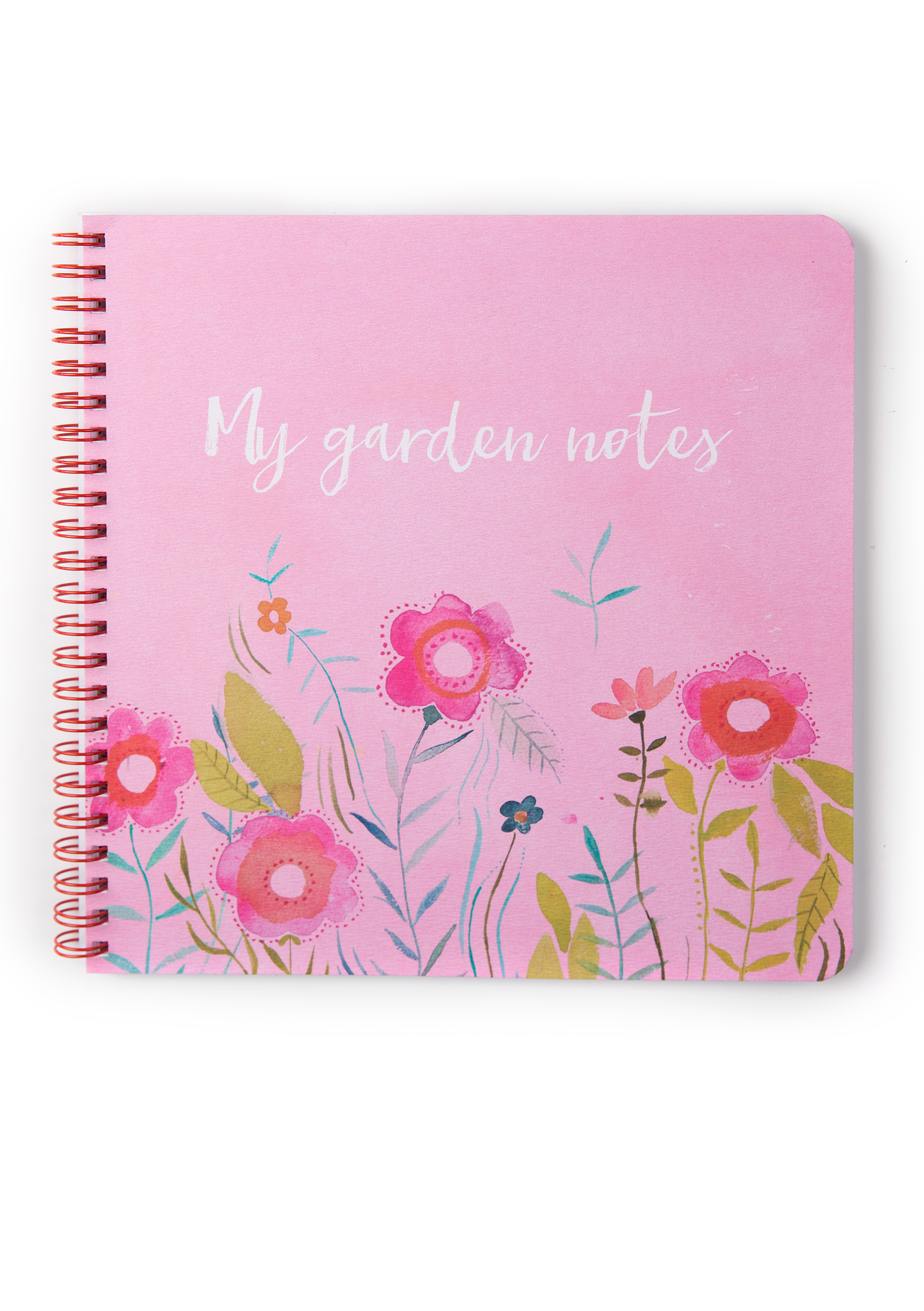 My garden notes multicoloured