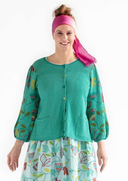 Artemis cardigan light oriental green